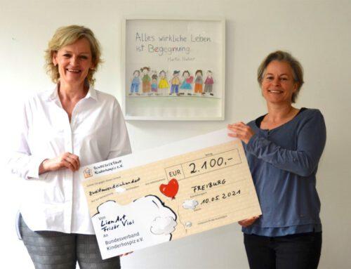 Spendenaktion in Kooperation mit Frisör Vici